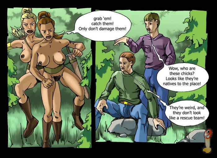 порно комиксы про амазонок