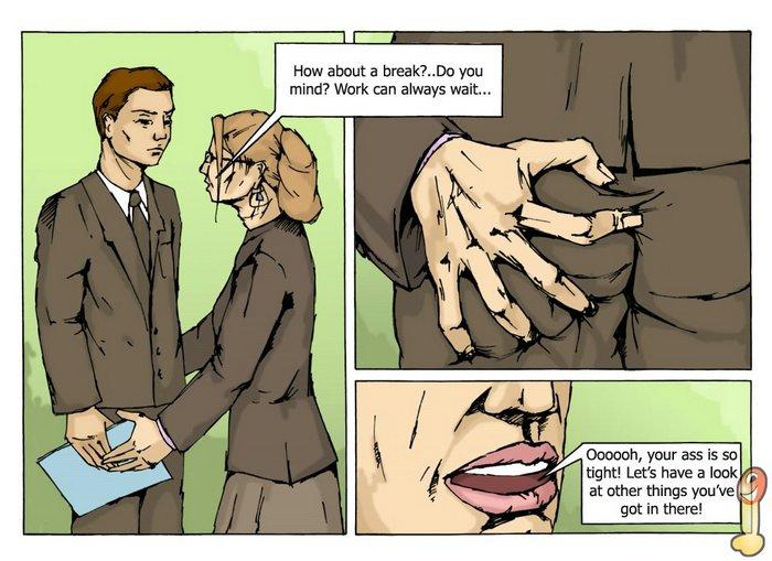 Office sex comic